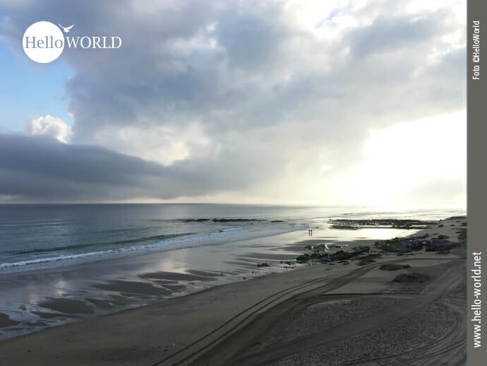 Sonnenaufgang am Strand von Arnados