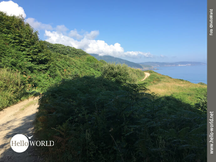 Küstenweg Richtung Malpica