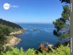 Küstenpanorama Richtung Malpica