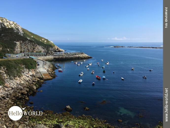 Porto Barizo: Einstieg Richtung Corme