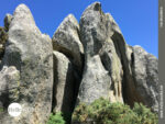 Felsformationen wie im Hochgebirge