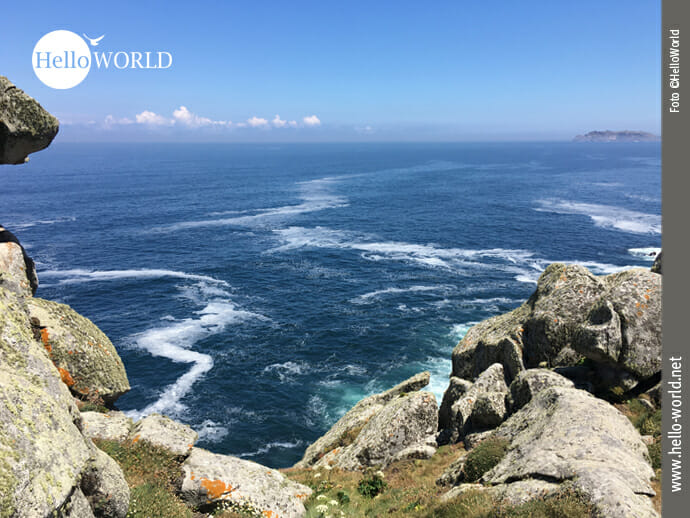 Felsen und Meer an der Costa da Morte