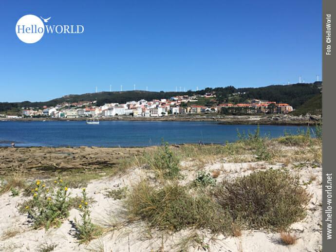 Blick zurück nach Corme vom Playa de Ermida