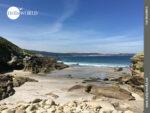 Ausblick an der spanischen Nordküste bei Balares