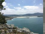Fernsicht an der Costa da Morte Richtung A Carballa
