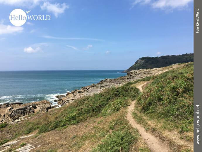 Perfekte Bedingungen zum Wandern an der Costa da Morte