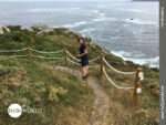 Abgesicherter Wanderpfad an der Costa da Morte