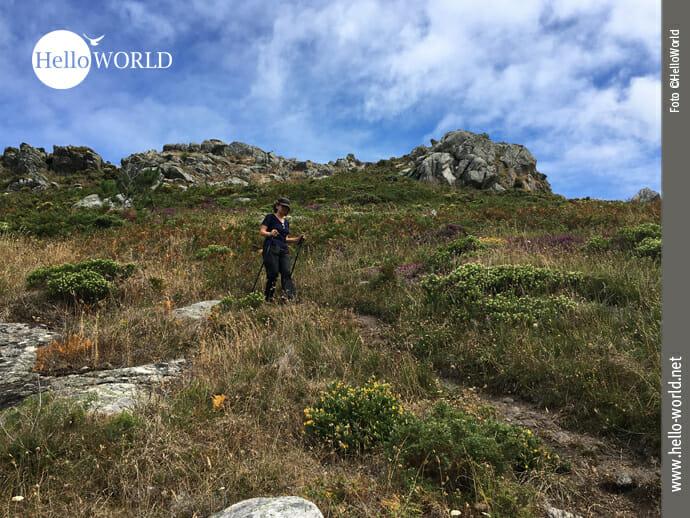 Wandergebiet bei Laxe an der spanischen Nordküste