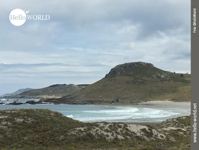 Bergige Atlantikküste zwischen Laxe und Camelle