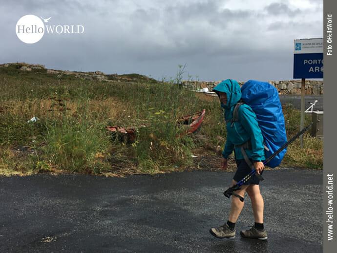Porto de Arou: Es regnet, regnet und regnet…