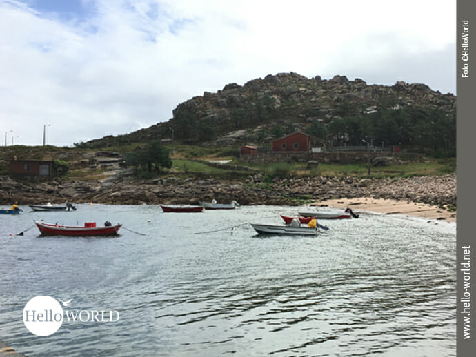 Porto de Arou: ein wenig wie Klein-Büllerbü