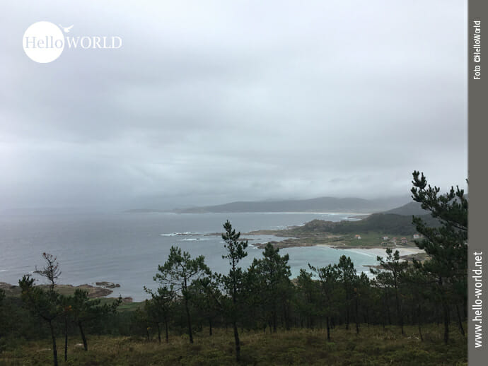 Phantastischer Blick zur Punta de Percebeira