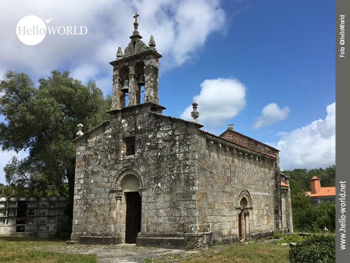 Igrexa de Santiago de Cereixo an der Costa da Morte