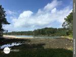 Ruhig und idyllisch: Flussmündung an der Costa da Morte
