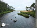 Flußmündung des Rio do Lago an der Costa da Morte