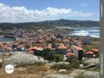 Ausblick über Muxia vom Mirador do Corpino