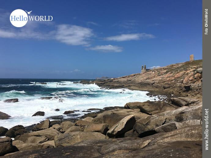 Blick zur Punta da Barca an der Costa da Morte