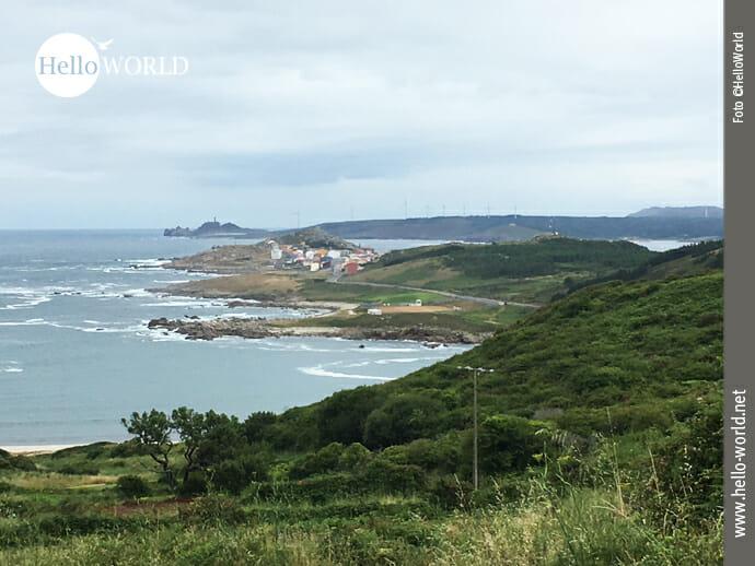 Spanische Nordküste: Rückblick nach Muxia