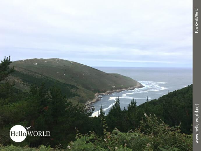 Blick Richtung Cabo Buitra an der spanischen Nordküste