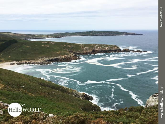 Das Cabo Tourinan an der spanischen Nordküste