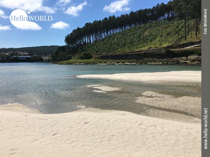 Die Ria de Lires an der spanischen Nordküste
