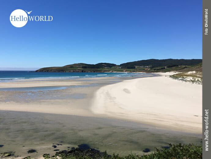 Traumhafter Strand an der spanischen Nordküste