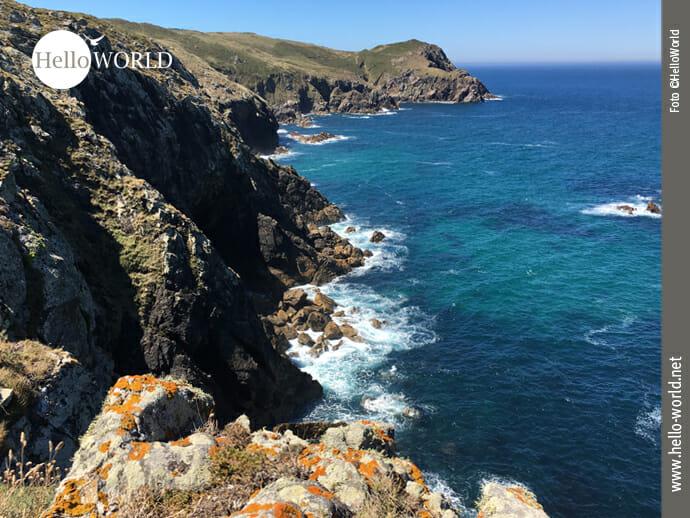 Küste an der Punta do Rostro an Spaniens Nordküste