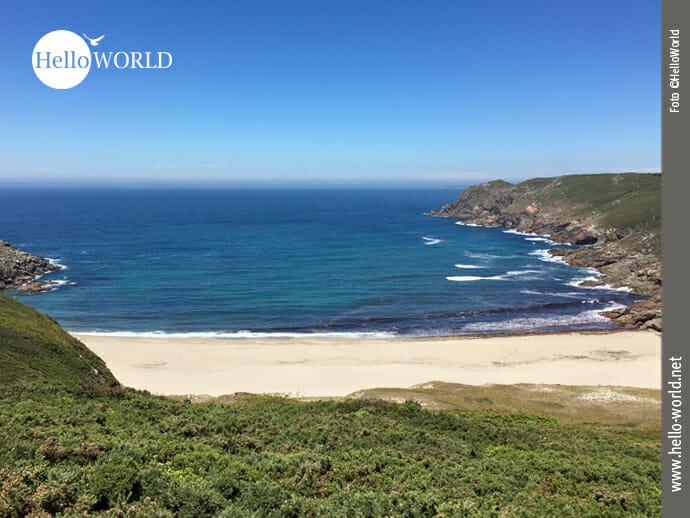 Der Praia de Arnela auf dem Weg nach Finisterre