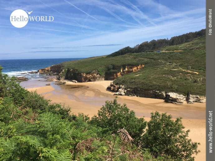 Sehenswert: Playa Galizano
