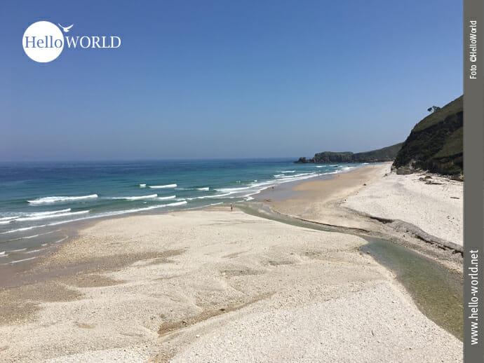 Weißer Playa de San Antolin