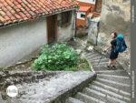 Über Treppen ins Zentrum von Cudillero
