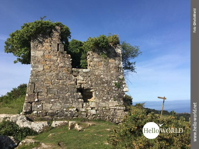 Hoch zu Berge: ausgedienter Wachturm am Jaizkibel