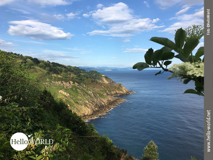 Wundervoll: die spanische Nordküste bei San Sebastian