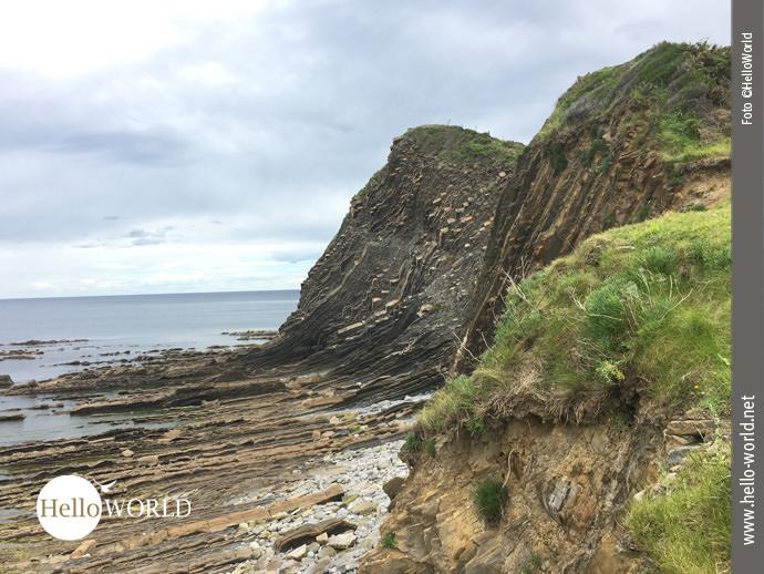 Flysch – Felsformationen an Spaniens Nordküste