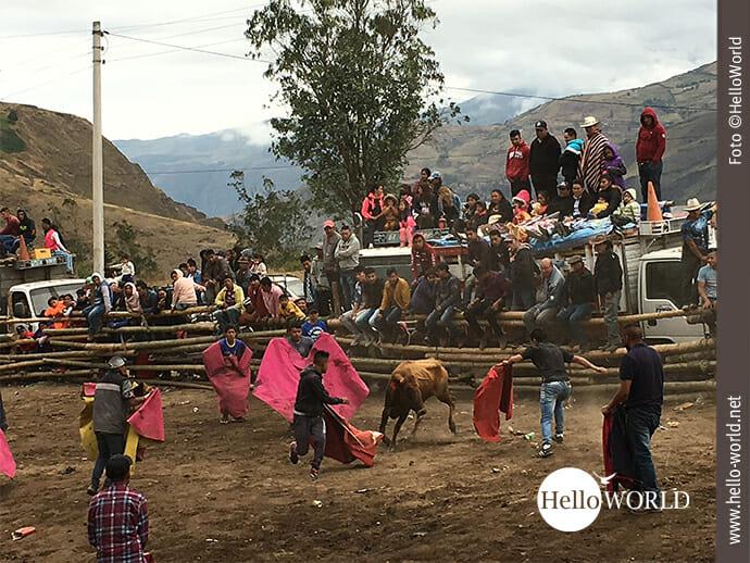 Stierkampf in Südamerika