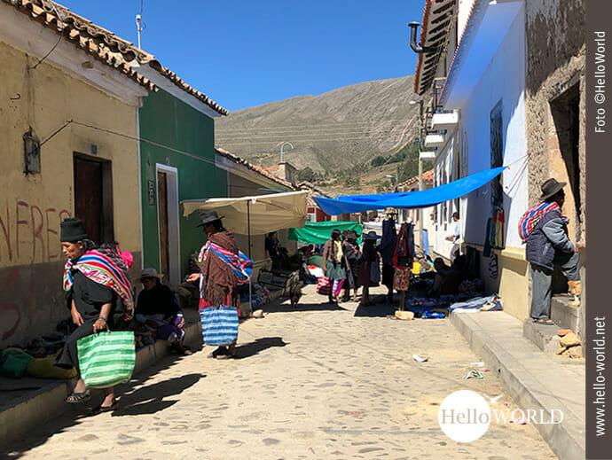 Einkaufsalltag in Südamerika