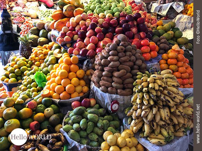 Farbig und frisch: Märkte in Südamerika