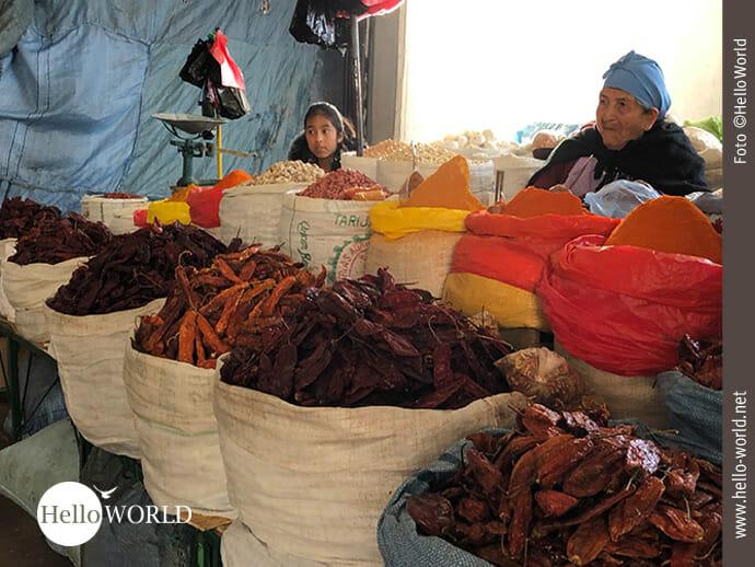 Unglaublicher Duft: Gewürze im Mercado