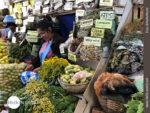 Kräuterangebot im Mercado in Südamerika