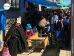 Sonntags verwandeln sich Dorfstraßen in Einkaufszentren