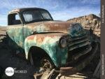 Schrottwerter Oldtimer in Bolivien