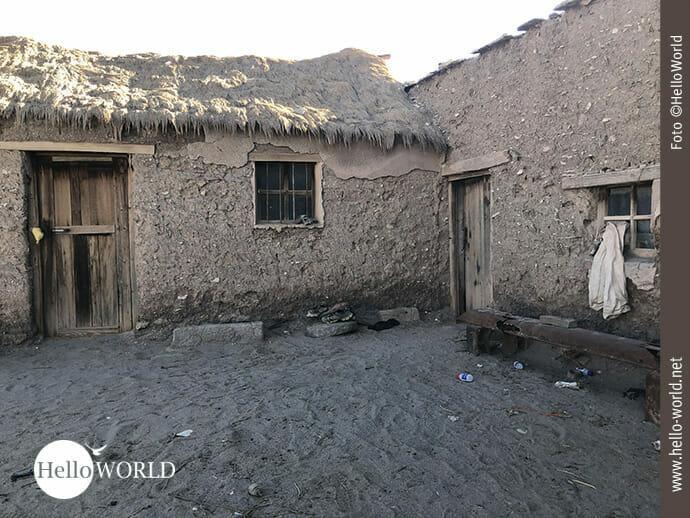 Dorfimpression in Bolivien