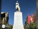 Denkmal für Christoph Kolumbus mitten in la Paz