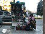 Snacks und Getränkeverkauf in Boliviens Hauptstadt