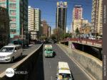 Wolkenkratzer, Reklametafeln - auch das ist La Paz