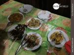 Abendessen im Dschungel Boliviens