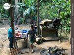 Außenküche im Dschungel