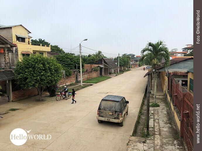 Irgendwo in Rurrenabaque: Straßenansicht