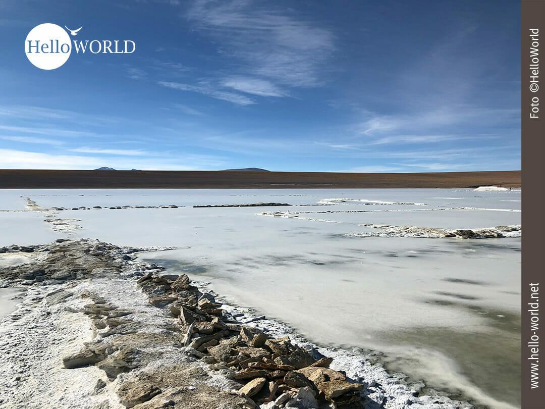 Impression von der Laguna Collpa in Bolivien