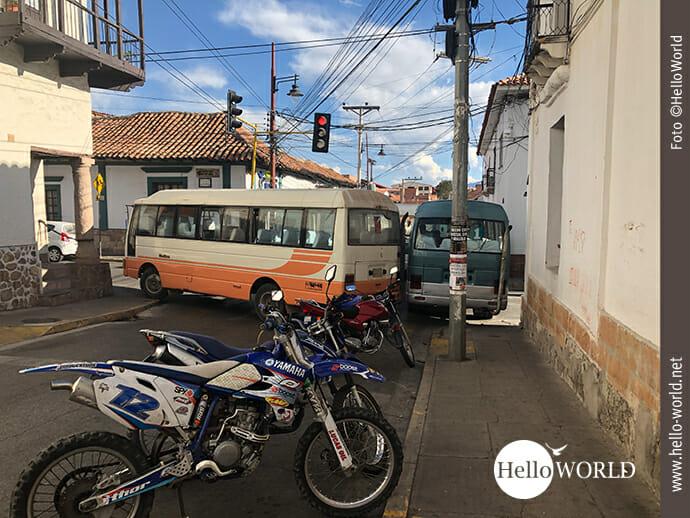 Sucre: eine Stadt im Blockademodus